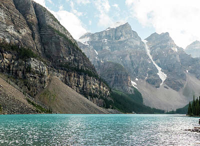 Photograph - Moraine Lake by Rod Jones
