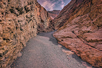 Photograph - Mosaic Canyon by Peter Lakomy