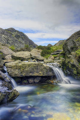 Photograph - Mountain Stream by Ian Mitchell