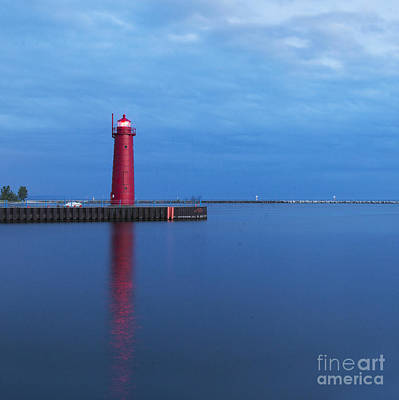 Muskegon Lighthouse Wall Art - Photograph - Muskegon Lighthouse by Twenty Two North Photography