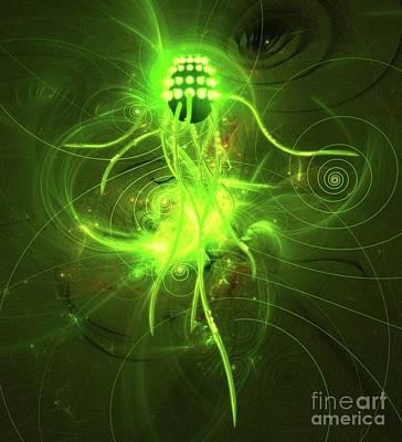Mystery Digital Art - Mysteries Of The Universe By Raphael Terra by Raphael Terra