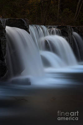 Photograph - Natural Dam by Larry McMahon