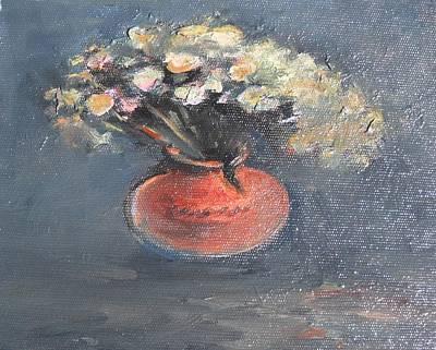 Naturmort Painting - Naturmort Flowers by Edvard FineArt