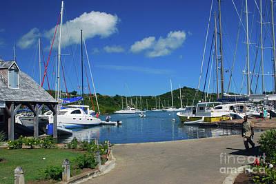 Photograph - Nelson's Dockyard by Gary Wonning