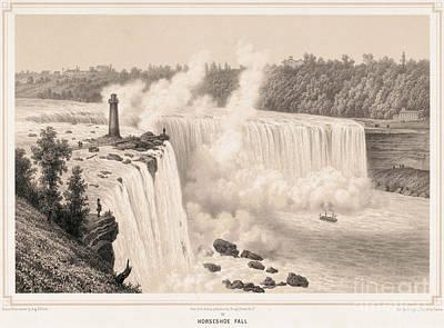 Photograph - Niagara Falls. For Licensing Requests Visit Granger.com by Granger