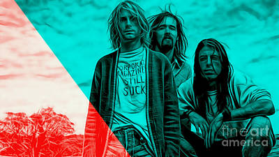 Nirvana Collection Art Print by Marvin Blaine