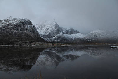 Mist Photograph - Norway by Jan Boesen