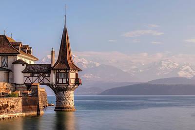 Bernese Photograph - Oberhofen - Switzerland by Joana Kruse