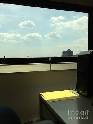 Photograph - 4 O'clock At The Office by Miriam Danar