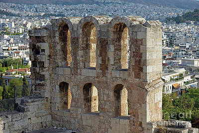 Photograph - Odeon Of Herodes Atticus by George Atsametakis