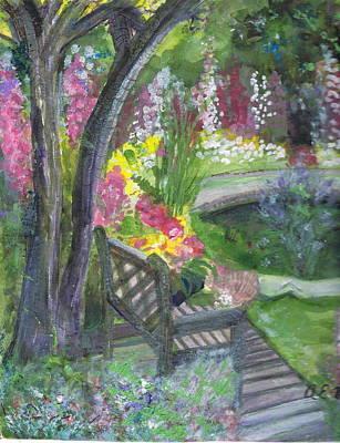 Oh How I Miss You Art Print by Anne-Elizabeth Whiteway