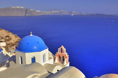 Sea View Photograph - Oia - Santorini by Joana Kruse