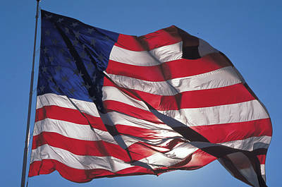 Old Glory Art Print by Carl Purcell