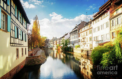 Photograph - old Town of Strasbourg II by Anastasy Yarmolovich