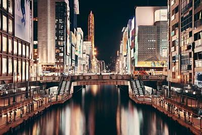 Photograph - Osaka Street by Songquan Deng