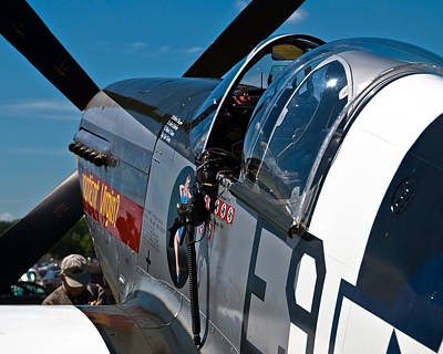 Photograph - P 51 Mustang by Eric Miller