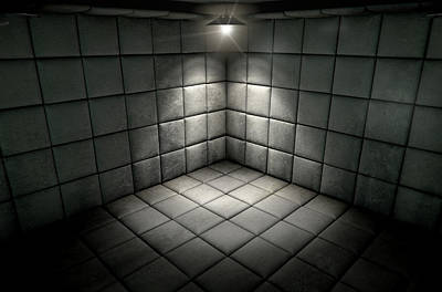 Mental Digital Art - Padded Cell Dirty Spotlight by Allan Swart