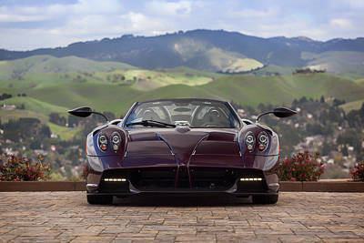 Photograph - #pagani #huayra #roadster #print by ItzKirb Photography