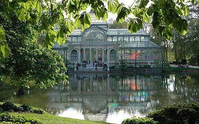 City Digital Art - Palacio De Cristal by Super Lovely