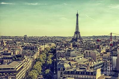 Photograph - Paris by Patricia Hofmeester