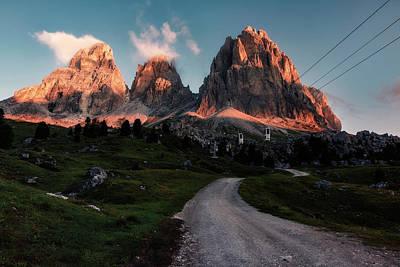 Tyrol Wall Art - Photograph - Passo Di Sella - Dolomiti by Joana Kruse