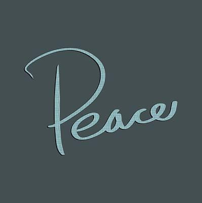 Drawing - Peace by Bill Owen