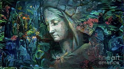 Digital Art - Peaceful Madonna by Amy Cicconi