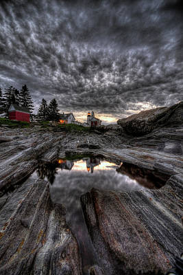 Photograph - Pemaquid Lighthouse by Patrick Groleau
