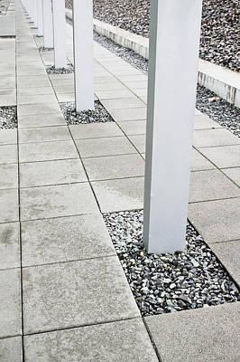 Flagstone Photograph - Pillars by Tom Gowanlock