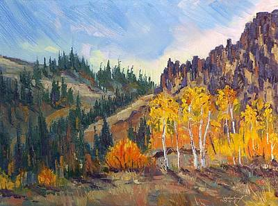Plein Air Series Art Print by Len Sodenkamp