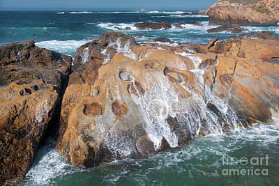 Point Lobos Concretions Art Print
