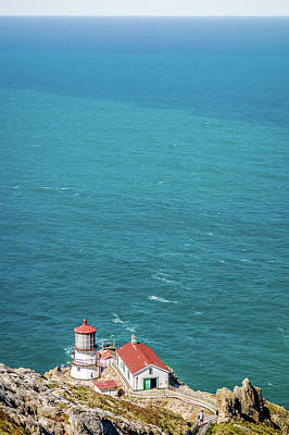 Photograph - Point Reyes Lighthouse And Pacific Coast by Alex Grichenko