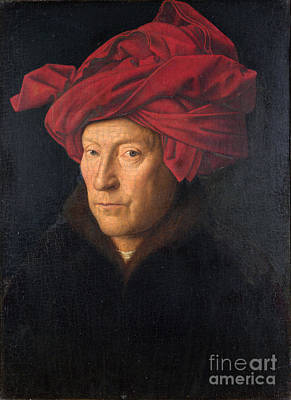 Painting - Portrait Of A Man  by Jan van Eyck