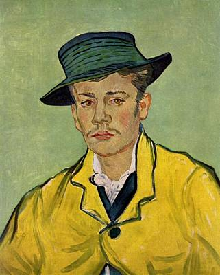 Painting - Portrait Of Armand Roulin by Vincent Van Gogh