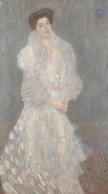 Portrait Of Hermine Gallia Art Print