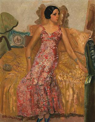 Portrait Of Selma Alexander Art Print