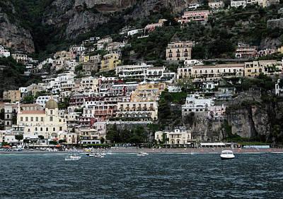 Photograph - Positano by Harvey Barrison