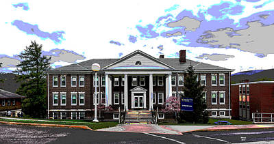 Reynolds Mixed Media - Potomac State College by Charles Shoup