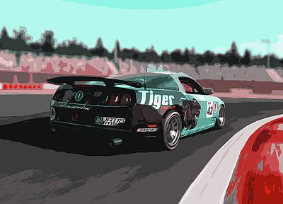 Power And Motors Art Print by Andrea Mazzocchetti