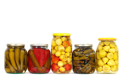 Preserved Peppers Print by Boyan Dimitrov