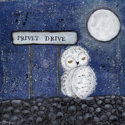 Painting - 4 Privet Drive by Tina Marie Hilton