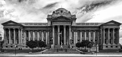 Pueblo County Courthouse Art Print by Mountain Dreams