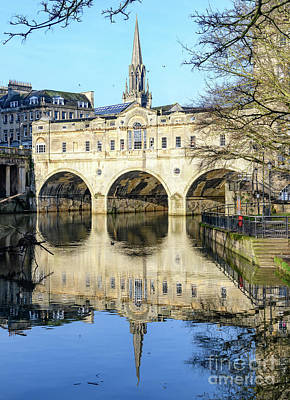 Photograph - Pulteney Bridge, Bath by Colin Rayner