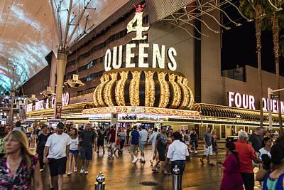 Photograph - 4 Queens Casino Las Vegas by John McGraw