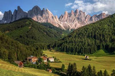 Photograph - Ranui - Dolomiti by Joana Kruse