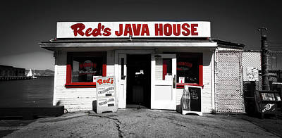 Red's Java House Of San Francisco Art Print by Mountain Dreams
