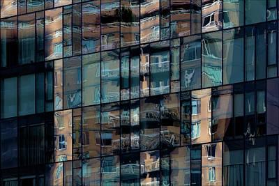Keith Richards - Reflective Glass Building by Robert Ullmann