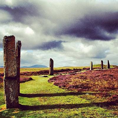 Landscapes Photograph - Ring Of Brodgar by Luisa Azzolini