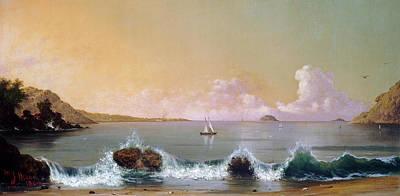 Painting - Rio De Janeiro Bay by Martin Johnson Heade