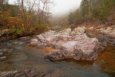 Photograph - Rocky Creek by Steve Stuller